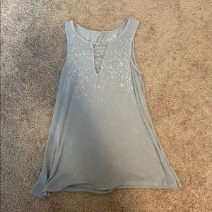 Soft and sexy tank with spots(came like that)